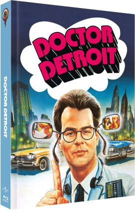Dr. Detroit (1983) (Cover B, Limited Edition, Mediabook, Blu-ray + DVD)