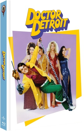 Dr. Detroit (1983) (Cover C, Limited Edition, Mediabook, Blu-ray + DVD)