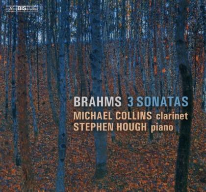 Johannes Brahms (1833-1897), Michael Collins & Stephen Hough - Three Sonatas (Hybrid SACD)