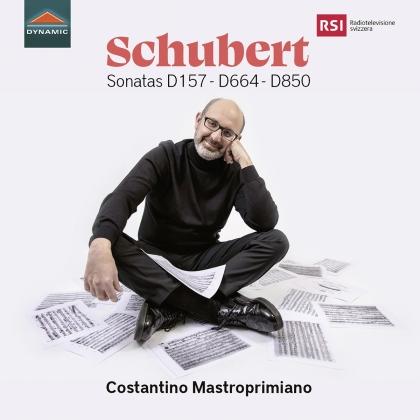 Franz Schubert (1797-1828) & Costantino Mastroprimiano - Sonatas D157 D664 D850
