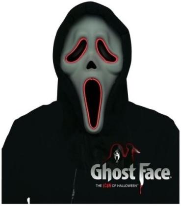 Original Scream Ghost Maske w. LED