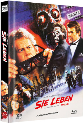 Sie leben (1988) (Cover F, Limited Collector's Edition, Mediabook, 2 Blu-rays)