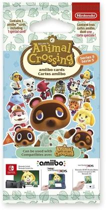 amiibo Cards Pack 3 Stk. Animal Crossing Series 5