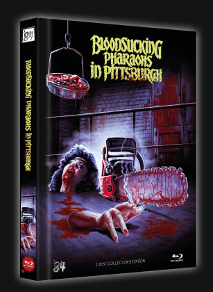 Bloodsucking Pharaohs in Pittsburgh (1991) (Cover A, Limited Collector's Edition, Mediabook, Blu-ray + DVD)