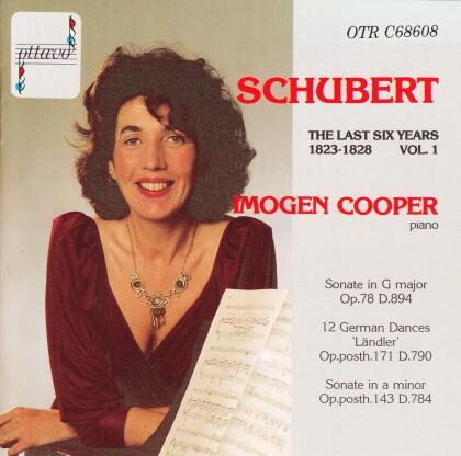 Franz Schubert (1797-1828) & Imogen Cooper - The Last 6 Years Vol. 1