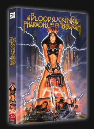 Bloodsucking Pharaos in Pittsburgh (1991) (Cover D, Limited Collector's Edition, Mediabook, Blu-ray + DVD)
