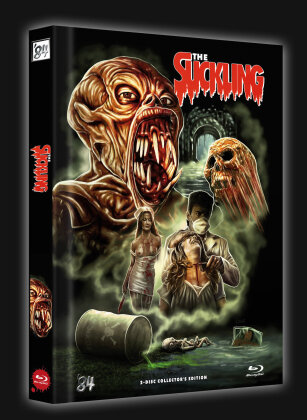 The Suckling (1990) (Cover A, Limited Collector's Edition, Mediabook, Blu-ray + DVD)