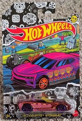 Hot Wheels Halloween - Corvette Stingray