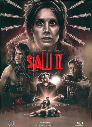 Saw 2 (2005) (Cover B, Director's Cut, Limited Edition, Mediabook)