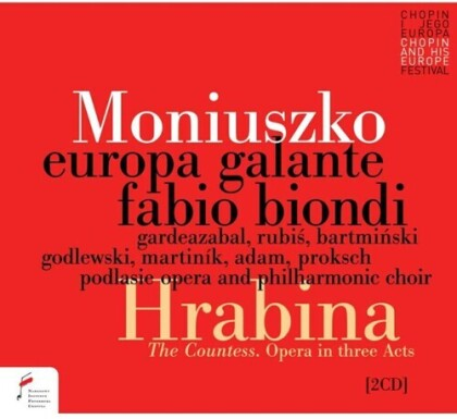 Europa Galante, Stanislaw Moniuszko (1819-1872) & Fabio Biondi - Hrabina (The Countess) (2 CDs)