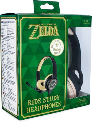 OTL Zelda Study Headphones - WITH BOOM MICRPHONE