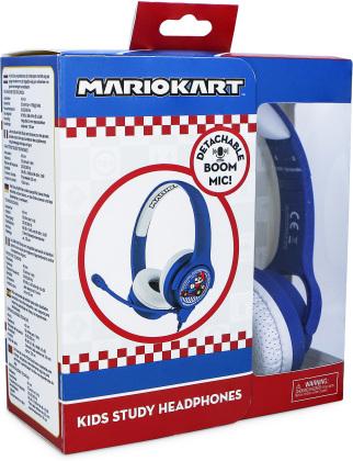 OTL Mariokart Study Headphones - WITH BOOM MICRPHONE