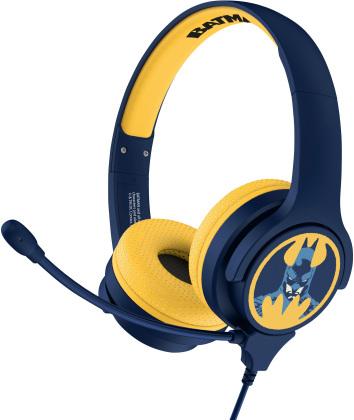 OTL Batman Study Headphones - WITH BOOM MICRPHONE