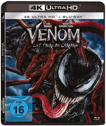 Venom 2 - Let there be Carnage (2021) (4K Ultra HD + Blu-ray)