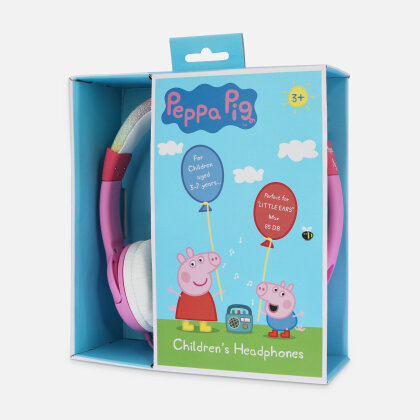 OTL Peppa Glitter Rainbow Headphones