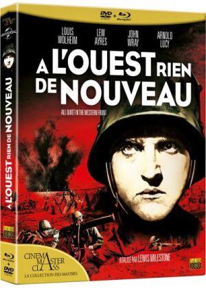 À l'ouest rien de nouveau (1930) (Cinema Master Class, Blu-ray + DVD)