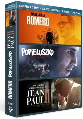 La Foi contre Le Totalitarisme - Romero / Popieluszko / Jean-Paul II (3 DVDs)