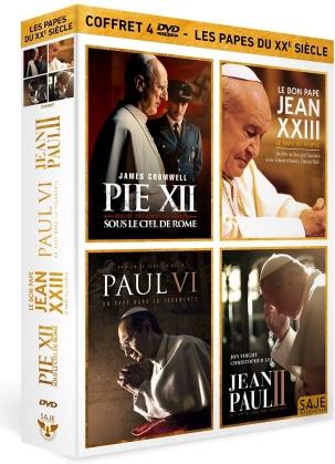 Les Papes du XXe siècle - Pie XII / Le Bon Pape Jean XXIII, le Pape du peuple / Paul VI, un Pape dans la tourmente / Jean-Paul II (4 DVDs)