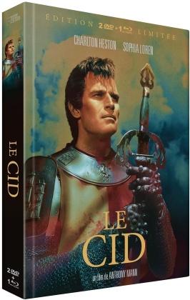Le Cid (1961) (Limited Edition, Mediabook, Blu-ray + 2 DVDs)