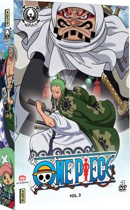 One Piece - Pays de Wano - Vol. 3 (3 DVD)