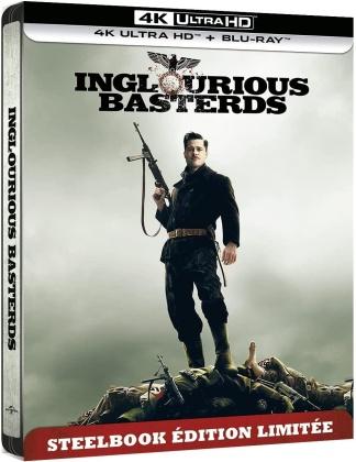 Inglourious Basterds (2009) (Édition Limitée, Steelbook, 4K Ultra HD + Blu-ray)