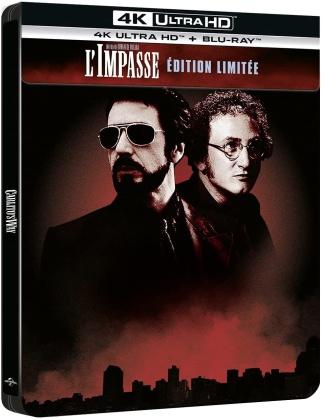 L'impasse (1993) (1993) (Édition Limitée, Steelbook, 4K Ultra HD + Blu-ray)