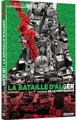 La bataille d'Alger (1965) (Make My Day! Collection, Blu-ray + DVD)